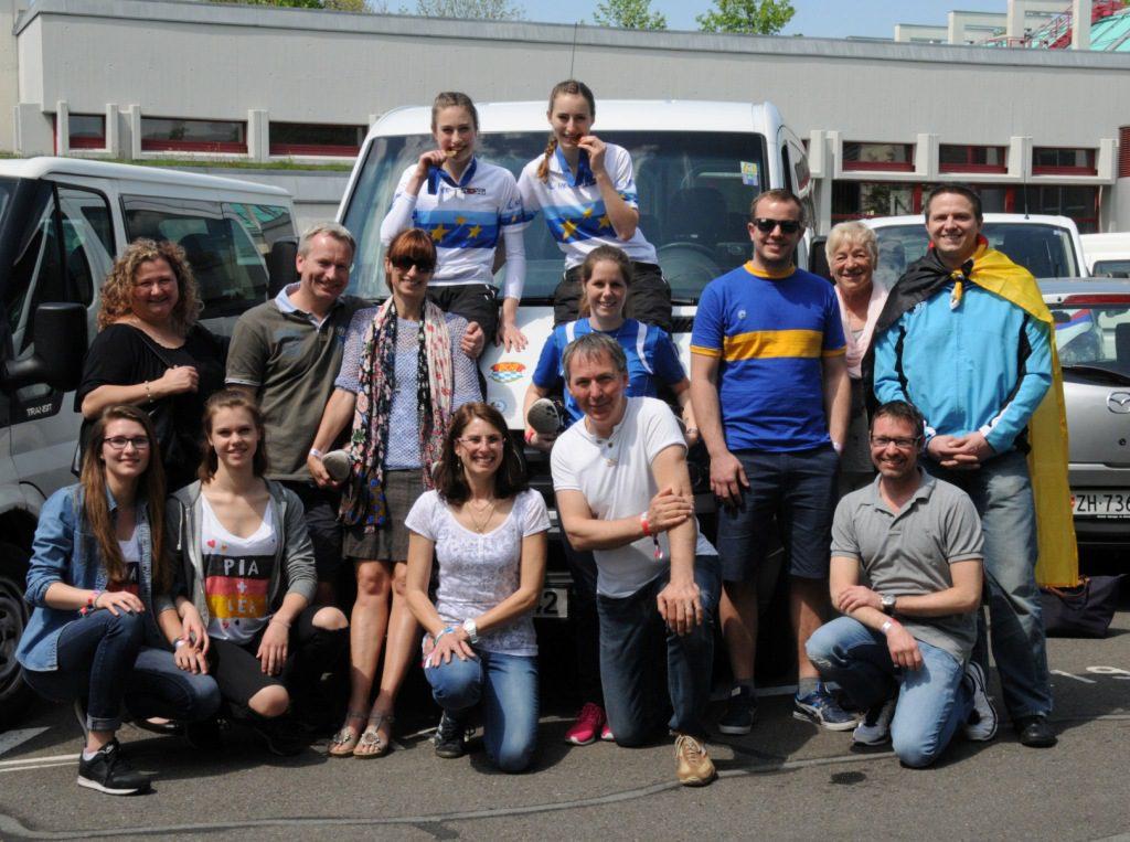 Gruppenbild - EM 2016