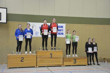 Siegerehrung bei der Oberbayerischen Meisterschaft 2020 in Forchheim